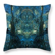 Stary Flipped Throw Pillow