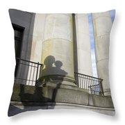State Building Washington  Throw Pillow