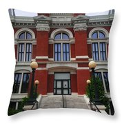 State Court Building Throw Pillow
