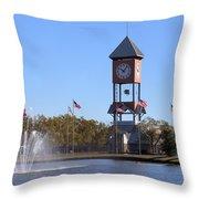 State Fairgrounds Throw Pillow