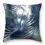 State Of Flux Throw Pillow