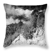 State Route 18 Throw Pillow