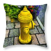 State Street Sentinel Throw Pillow