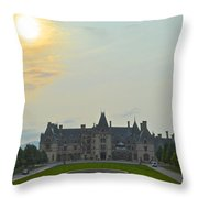 Stately Castle Throw Pillow