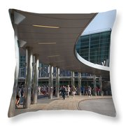 Staten Island Terminal Throw Pillow