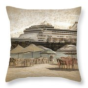 Statendam Throw Pillow