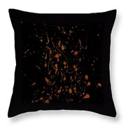 Static In The Line Throw Pillow