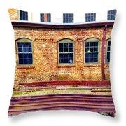 Station House Throw Pillow
