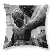 10401 I'm Hanging On Throw Pillow
