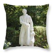 Statue 13 Throw Pillow