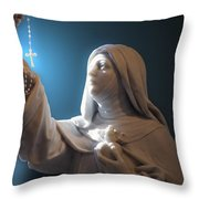 Statue 22 Throw Pillow by Thomas Woolworth