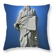 Statue 23 Throw Pillow by Thomas Woolworth