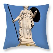 Statue Of Athena Throw Pillow