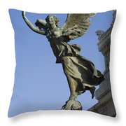 Statue On The Tomb Of The Unknown Soldier Throw Pillow