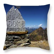 Statue The Dom Throw Pillow