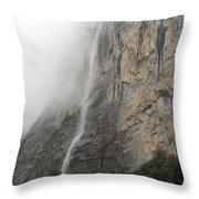 Staubbach Falls Throw Pillow