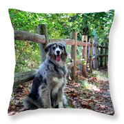 Stay Aussie Throw Pillow