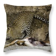Stay Back It's Mine Throw Pillow