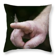 Stay In Touch Throw Pillow