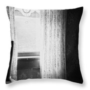 Stayed Waiting  Throw Pillow