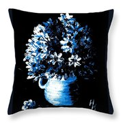 Staying In The Light Throw Pillow