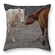Staying In Touch Throw Pillow