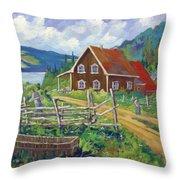 Ste-rose Du Nord Throw Pillow