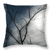 Steal Trees Throw Pillow