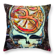 Steal Your Search For The Sound Throw Pillow by Kevin J Cooper Artwork