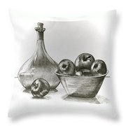 Stealing Of The Orchard Throw Pillow