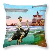 Stealth Squadron Throw Pillow