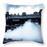 Steam Engine 3254 Throw Pillow