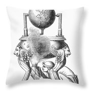 Steam Engine, C100 A.d Throw Pillow
