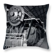 Steam Engine The Gold Coast Throw Pillow