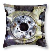 Steam Machine 2 Throw Pillow