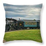 Steam Train Tr3627-13 Throw Pillow