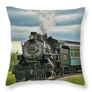 Steam Trains Tr3629-13 Throw Pillow
