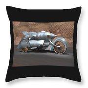 Steam Turbine Cycle Throw Pillow