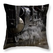Steam Wheels Throw Pillow