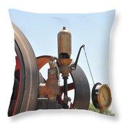 Steam Whistle Throw Pillow