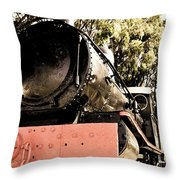 Steamer Throw Pillow