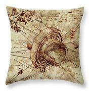 Steampunk Dream Series Iv Throw Pillow