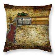 Steampunk - Gun - The Ladies Gun Throw Pillow