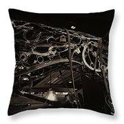 Steampunk Horse 2 Throw Pillow