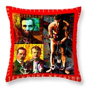Steampunk Machines Celebrating 200 Years Of Timeless Elegance And Sustainable Innovation 20140515 C7 Throw Pillow