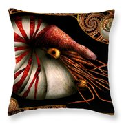 Steampunk - Nautilus - Coming Out Of Your Shell Throw Pillow