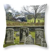 Steel And Stone Throw Pillow