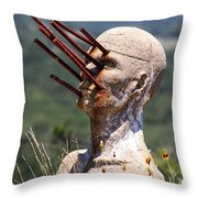 Steel Vision Throw Pillow