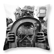 Steel Vs Steel Throw Pillow