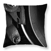 Steel Wheel I Throw Pillow